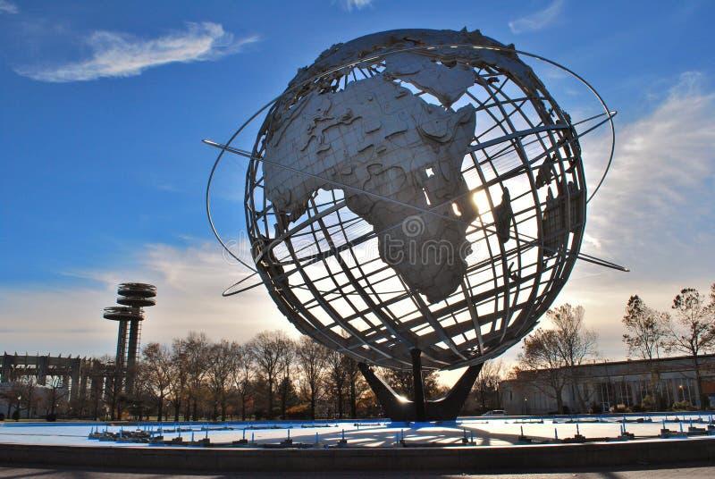 Unisphere in New York stock foto