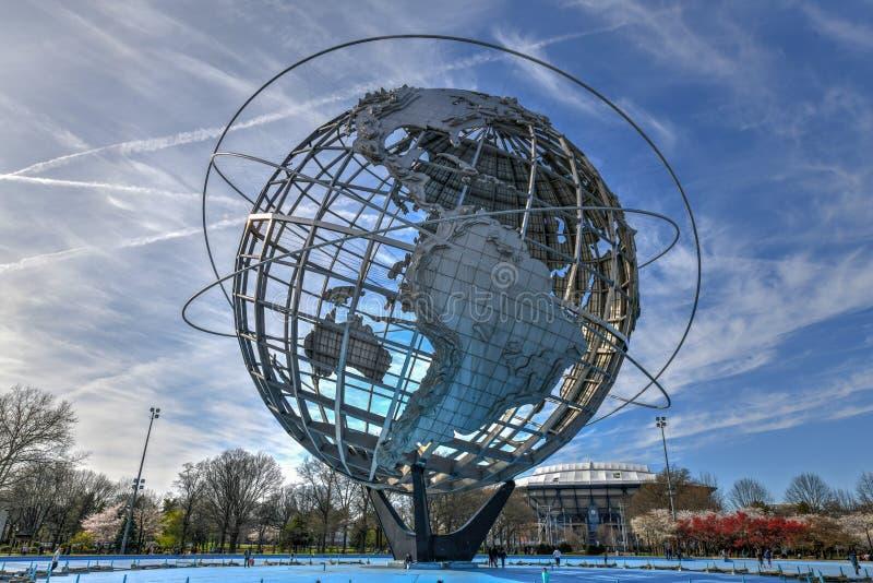 Unisphere - spola, Queens arkivbilder