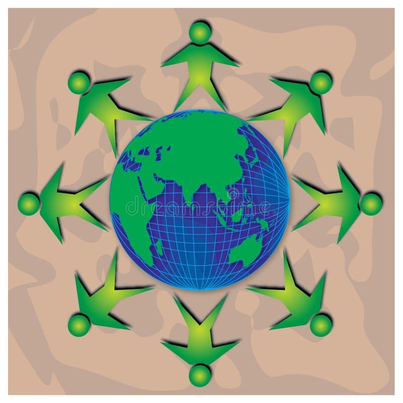 Download Unità illustrazione di stock. Immagine di globalization - 350383
