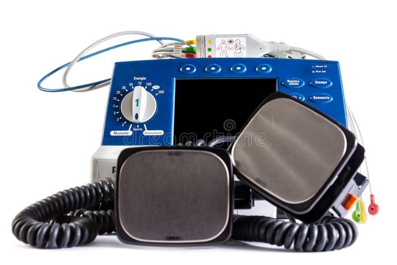 Unità del defibrillatore fotografie stock libere da diritti