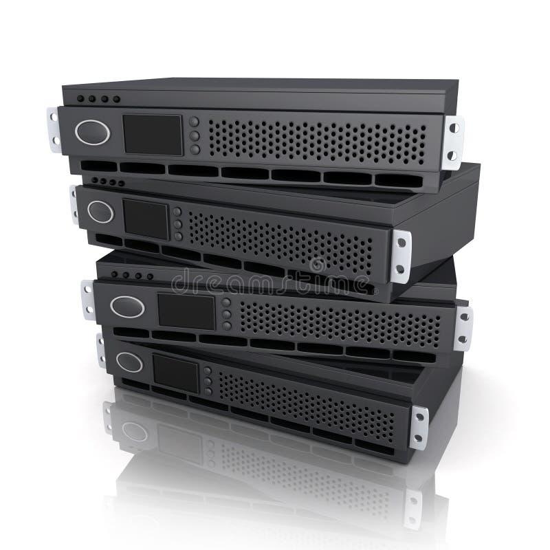 Unità del server illustrazione vettoriale