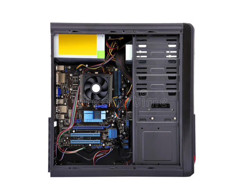 Unità del sistema informatico immagini stock