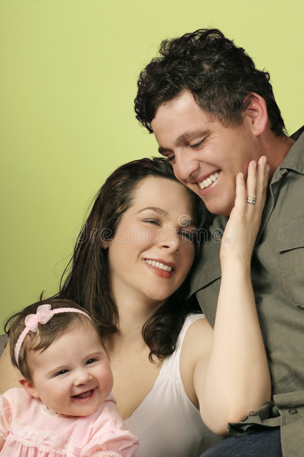 Unità della famiglia fotografia stock libera da diritti