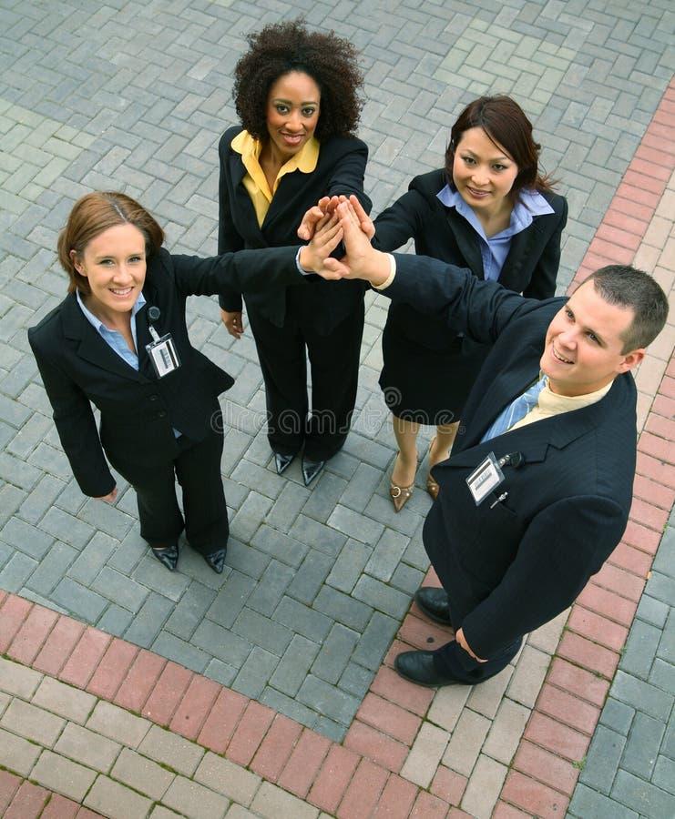 Unità della gente di affari di diversità fotografia stock