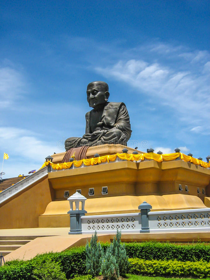 Unità di elaborazione Thuat Wat Huai Mongkhon di Luang immagine stock libera da diritti