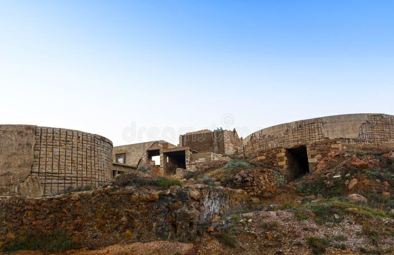 Unità di estrazione mineraria fotografia stock libera da diritti