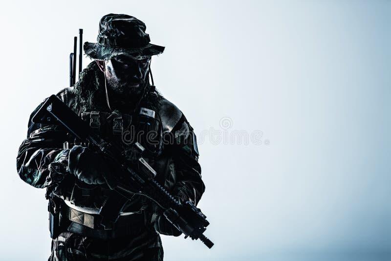 Unità di guerra della giungla immagini stock libere da diritti