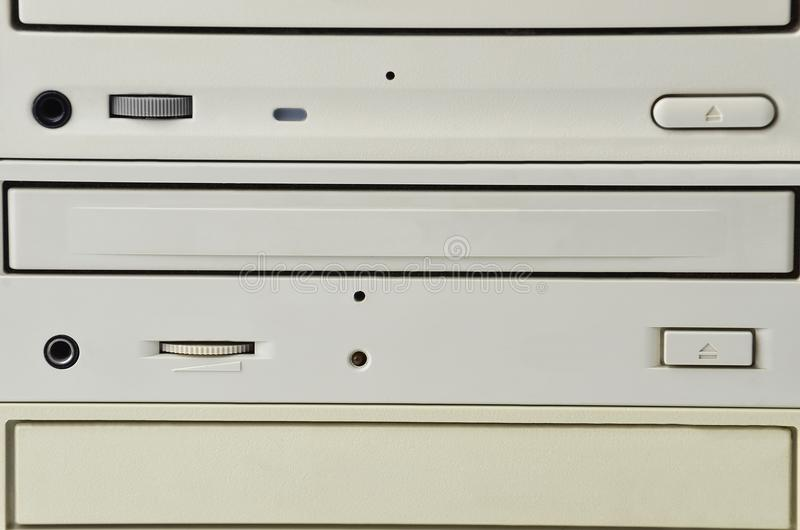 Unità disco di CD-ROM immagini stock libere da diritti