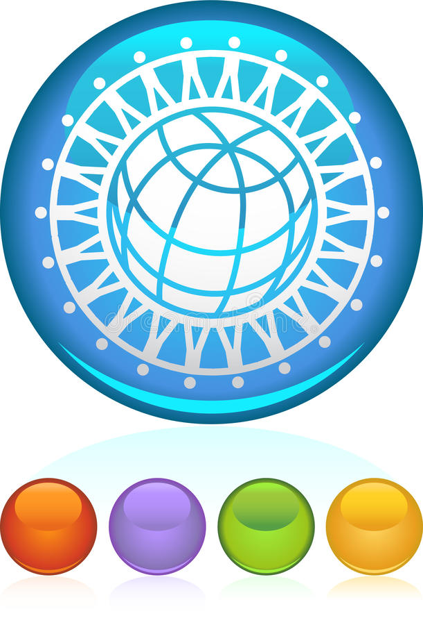 Unità globale illustrazione vettoriale