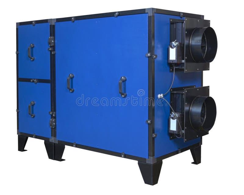 Unità per gli stagni dell'interno, vista esterna di ventilazione fotografia stock libera da diritti
