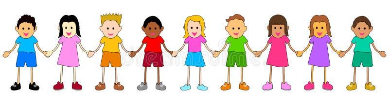 Unité dans la diversité illustration stock