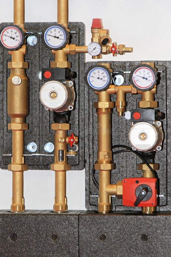 Pompe de chauffage central photos libres de droits