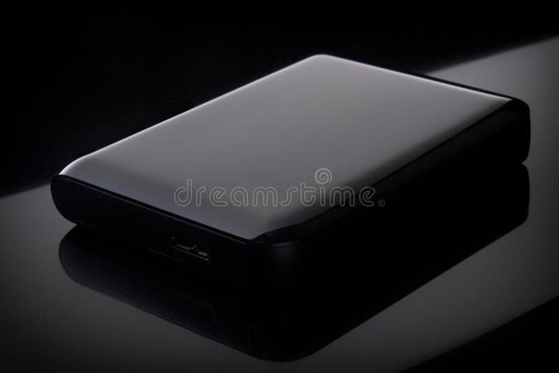 Unité de disque dur externe de Portable brillant photos stock