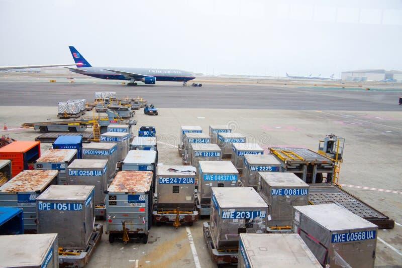 United Airlines photographie stock libre de droits