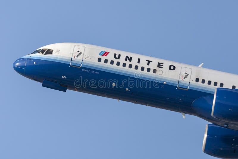 United Airlines Boeing 757 stock afbeeldingen