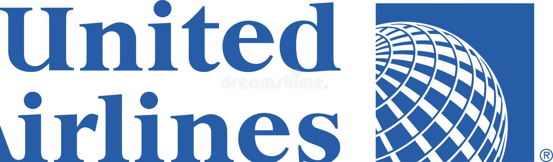 United Airlines-embleempictogram vector illustratie
