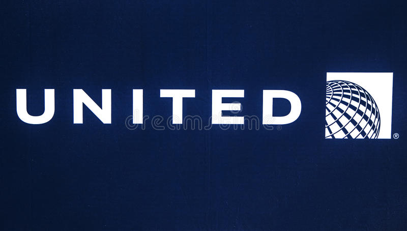 united airlines logo editorial image image of transportation 93709670
