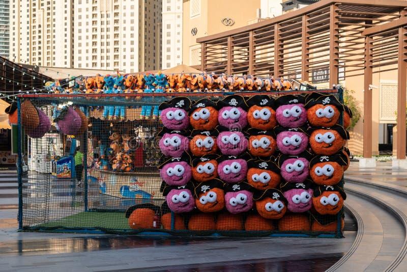 Shops at Dubai marina view, United Arab Emirates royalty free stock image