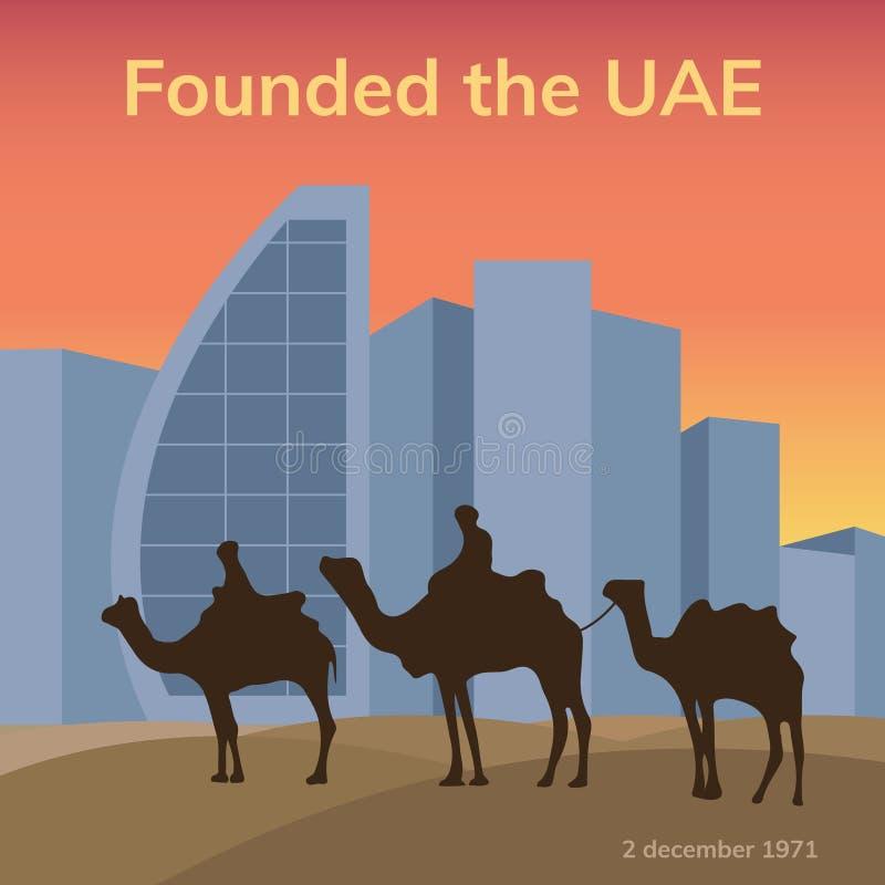 United Arab Emirates vector illustration