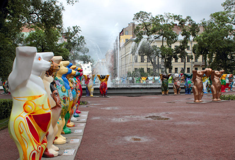 Download United Buddy Bears editorial photography. Image of europe - 25527067