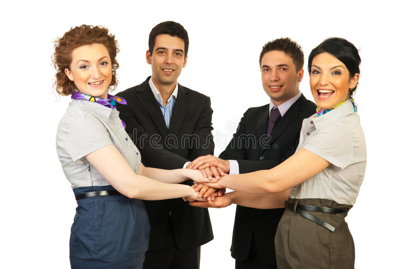 Download United Cheerful Business People Team Stock Photo - Image: 24501916
