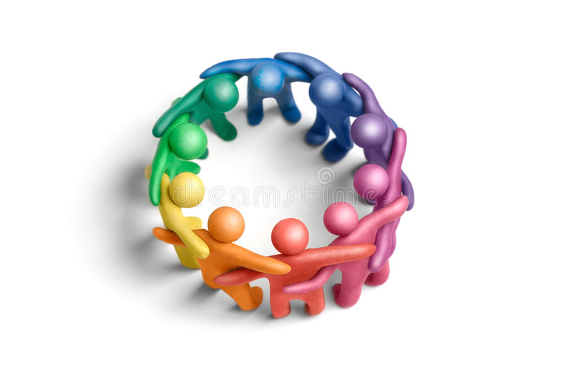 United colors 3 royalty free stock photos