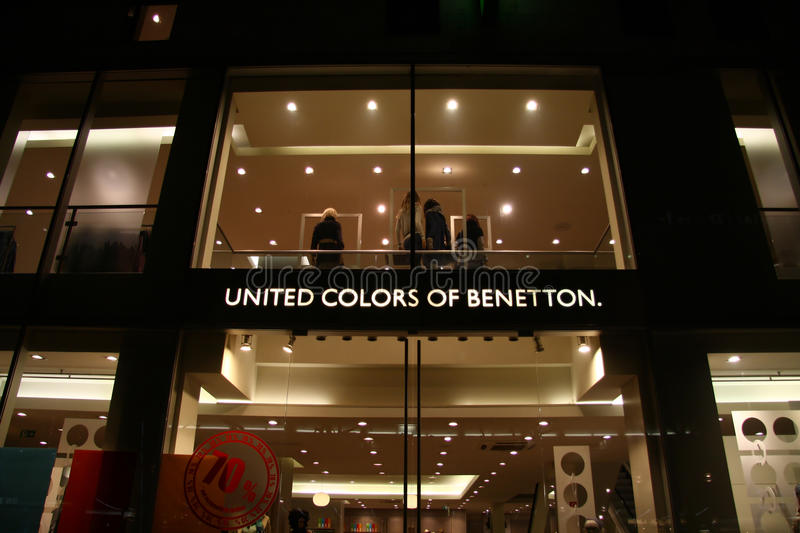 Download United colors of benetton editorial stock image. Image of united - 18492364