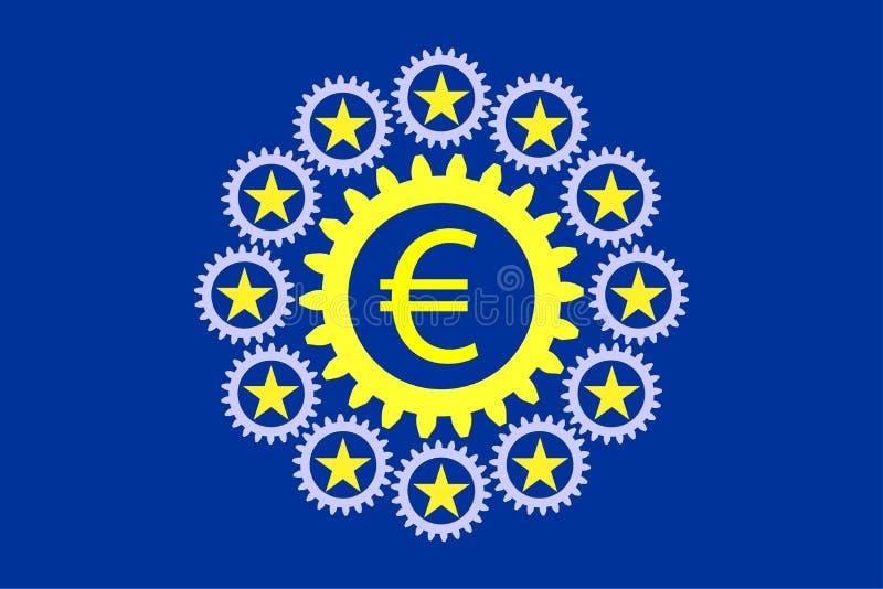 Download United Europe stock illustration. Image of united, collaboration - 40556475