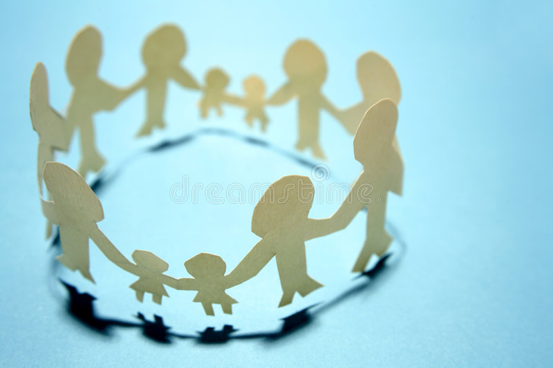 United families stock photography