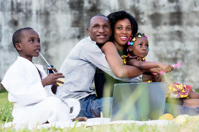 United and happy family royalty free stock photos