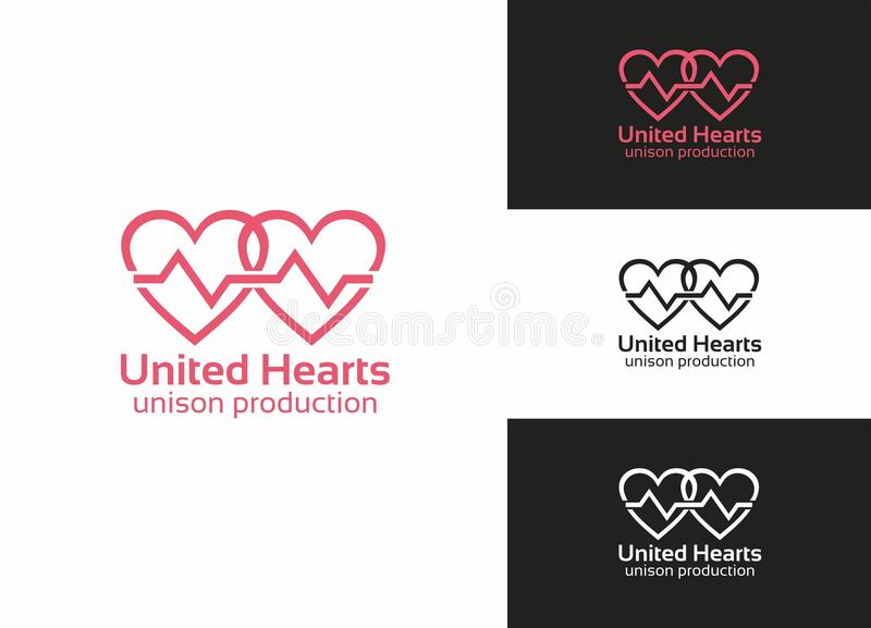 Download United Hearts stock vector. Illustration of corporation - 24682179