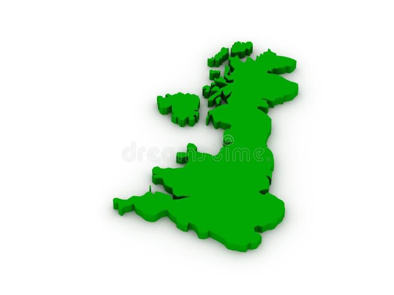 United Kingdom av Great Britain royaltyfri illustrationer