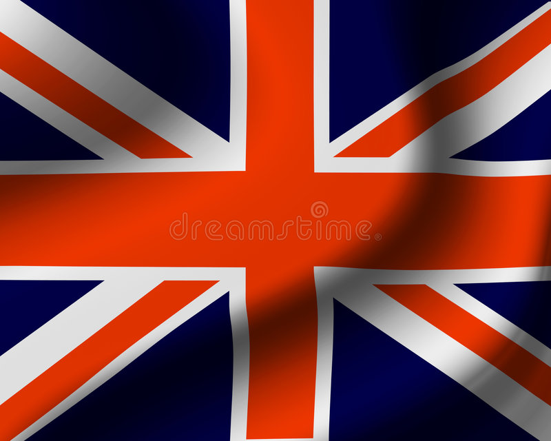 Download United Kingdom Flag stock illustration. Image of ripple - 3528035