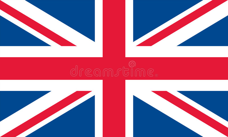 United kingdom flag vector illustration