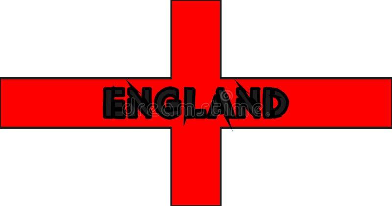 United kingdom flag. United kingdom england vector isolated flag royalty free illustration