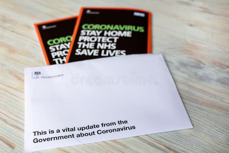 United Kingdom Government Coronavirus COVID-19 Information and advice, England stock photos