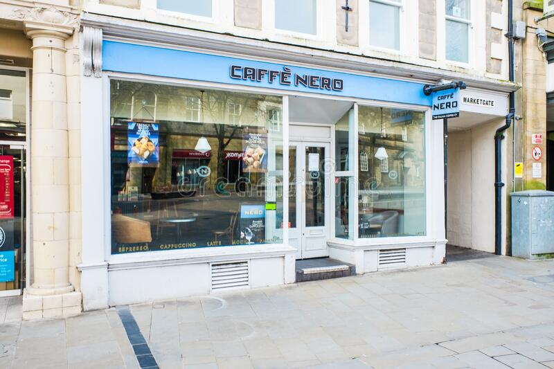 UNITED KINGDOM, LANCASTER - 9TH APRIL 2020 Caffe Nero Group coffee house. Chain stock photos
