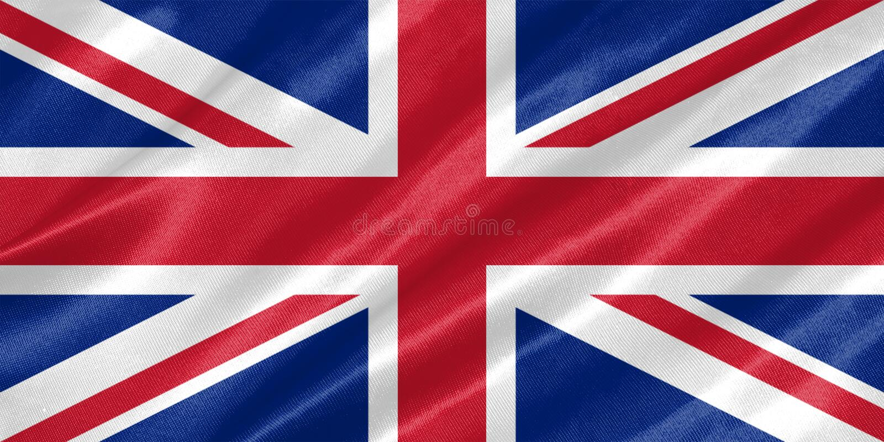 United Kingdom sjunker vektor illustrationer