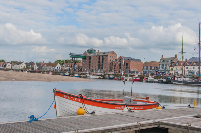 United Kingdom - Wells Next The Sea royalty free stock images