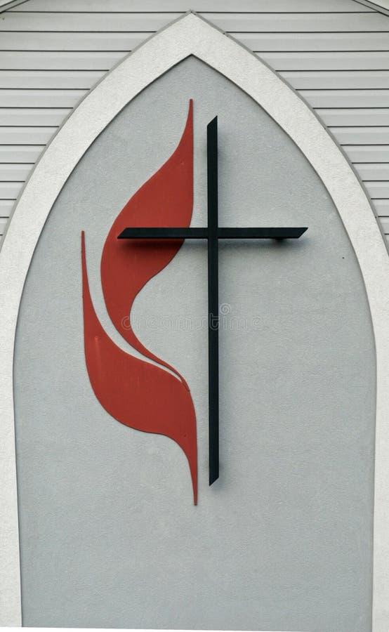 United methodist church logo. Image of a united methodist church logo stock image