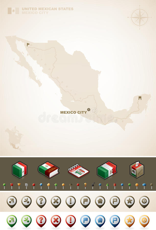 United Mexican State Stock Images