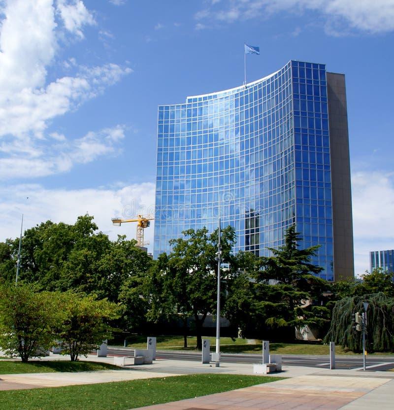 United Nations, Genebra, Switzerland imagens de stock royalty free