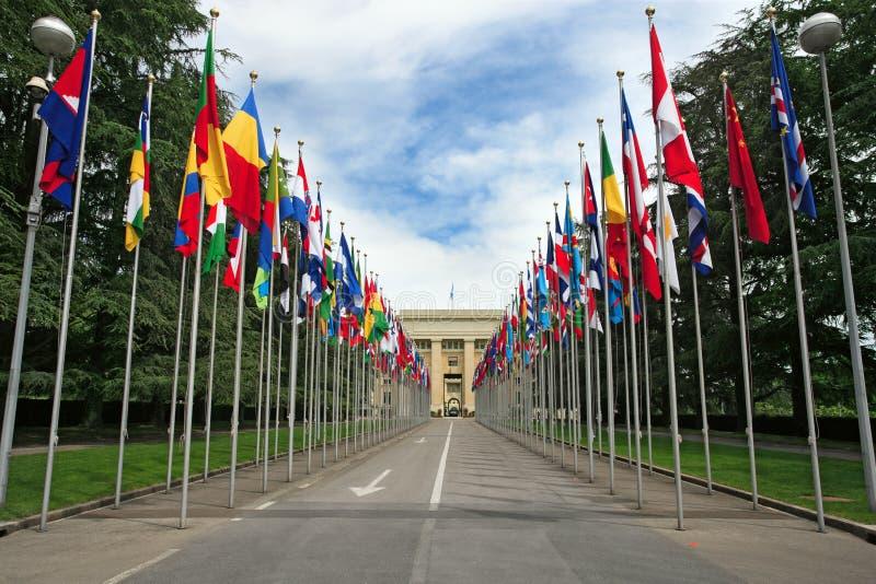 United Nations in Geneva stock photos