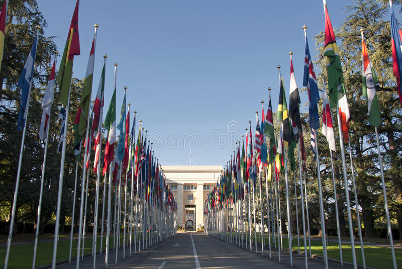 Download The United Nations  In Geneva - Switzerland Stock Image - Image: 22012547