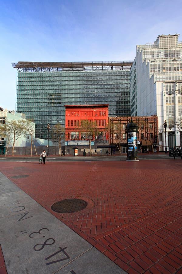 United Nations Plaza,San Francisco Editorial Stock Photo
