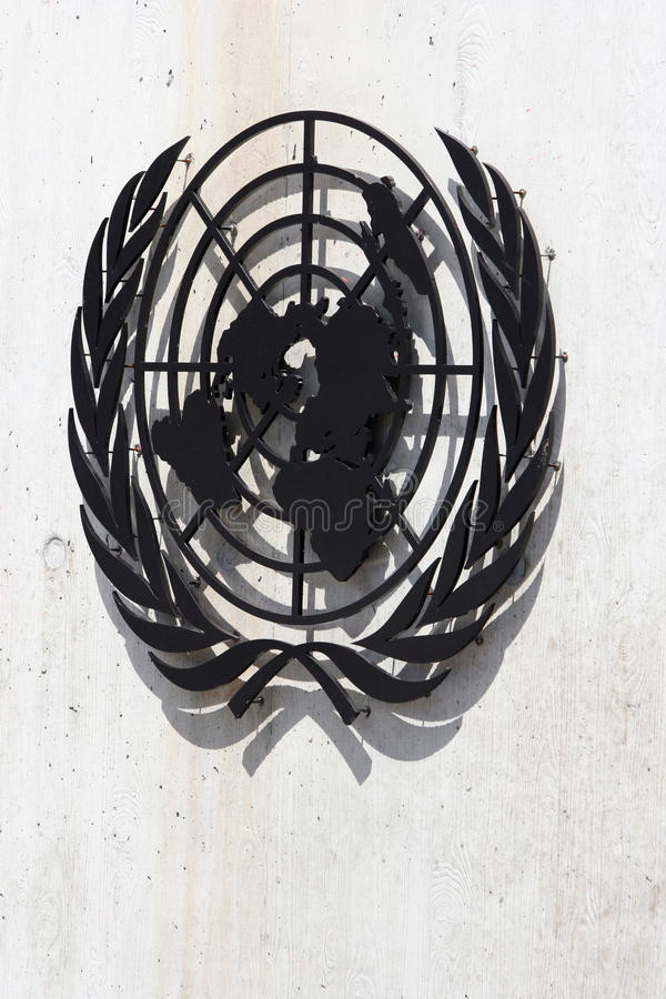 Download United Nations Symbol editorial image. Image of palais - 27578205