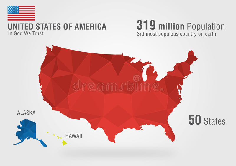 United state of america usa map on earth with a p stock image download united state of america usa map on earth with a p stock image image sciox Choice Image