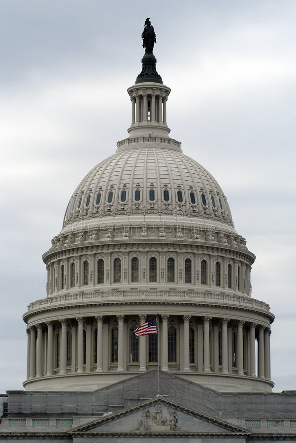 United State Capital Building stock photo