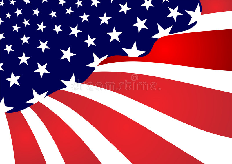 United states abstract flag royalty free stock images