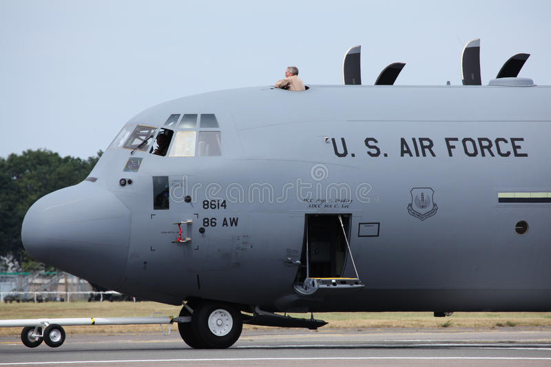 United States Air Force C-130J Editorial Image